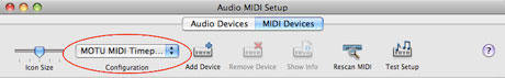 Audio MIDI Setup Custom Name